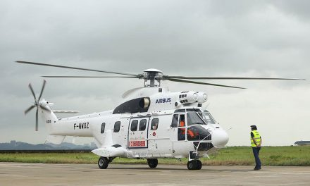 Airbus Helicopters' H215 kicks off its debut demo tour in China.