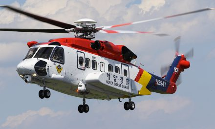 Sikorsky delivers Second S-92 helicopter to South Korea Coast Guard.