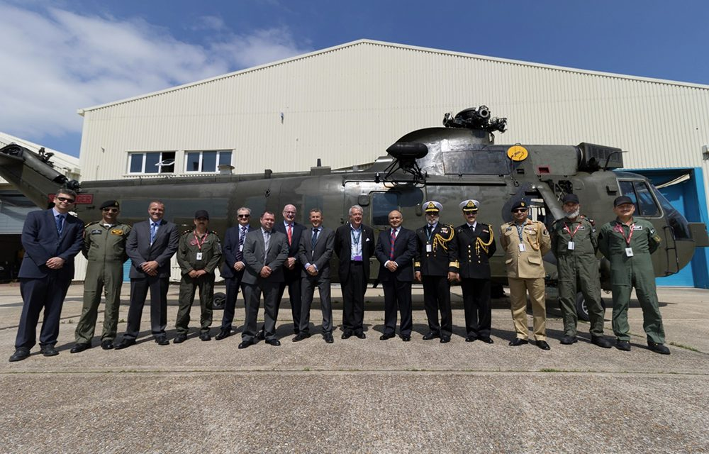 Vector Aerospace supports Pakistan Navy Sea King helicopter refurbishment programme.