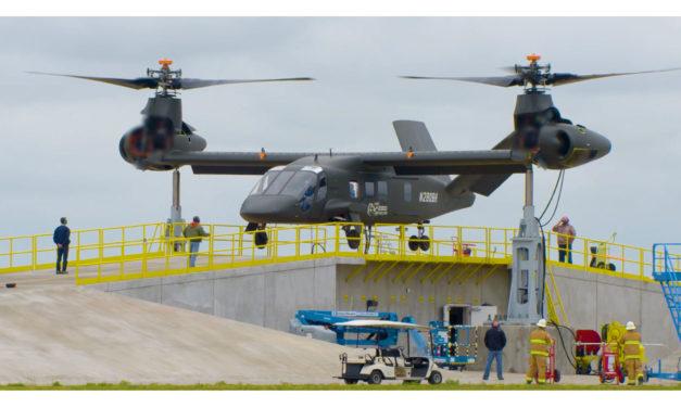 Bell V-280 Valor prototype begins restrained ground run test operations