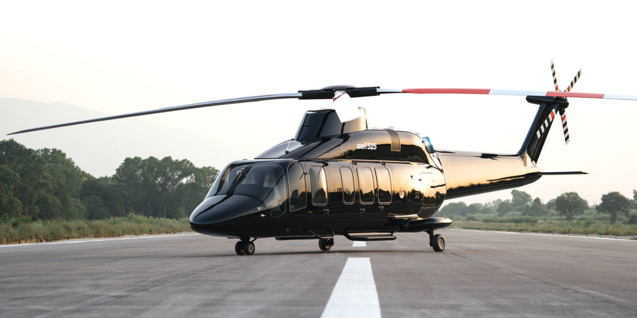 Bell 525 resumes testing