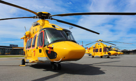 Three years of H175 operations for NHV