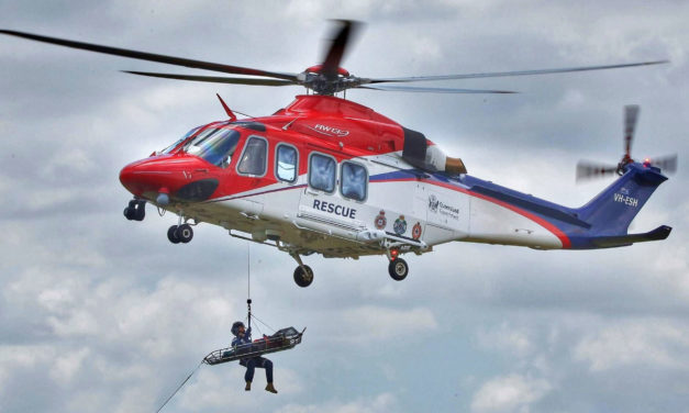 Leonardo: AW139s to support Queensland Government's helicopter fleet modernization programme