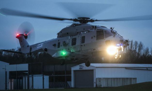 German Navy's second NH90 prototype takes maiden flight