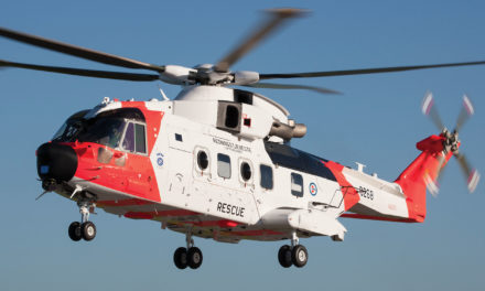 Leonardo begins deliveries of AW101 SARs to Norway