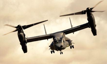 V-22 Osprey fleet tops 40,000 flight hours