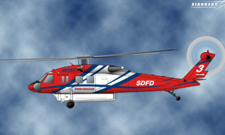 Sikorsky notified that the City of San Diego intends to purchase an S-70i Black Hawk helicopter for firefighting and search and rescue