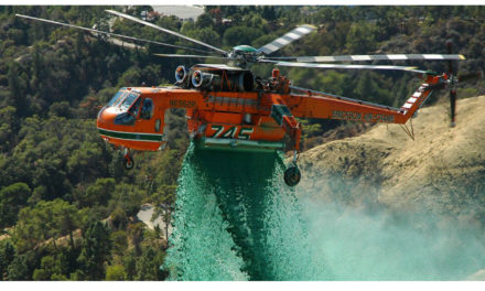Erickson contracted to build two additional S-64E Aircranes for the korea forest service.