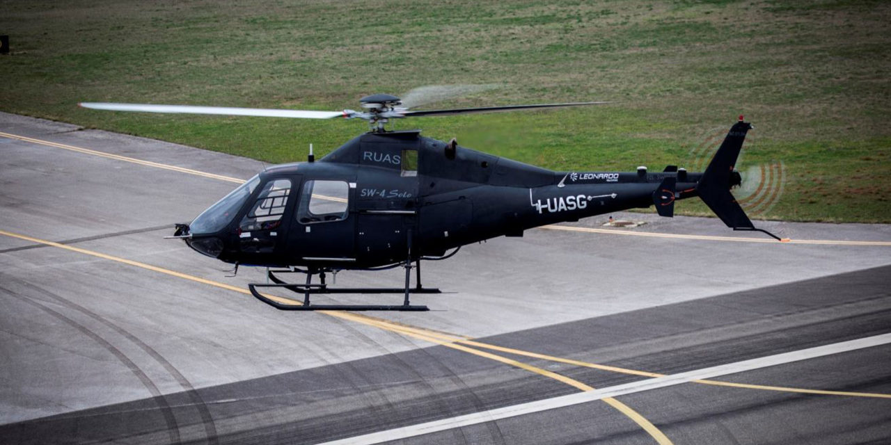 SW-4 solo optionally piloted helicopter performs its first flight with no safety pilot onboard