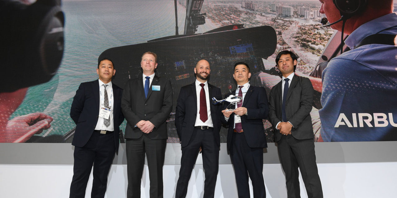 Airbus Helicopters gains momentum with more new orders from Japanese operators