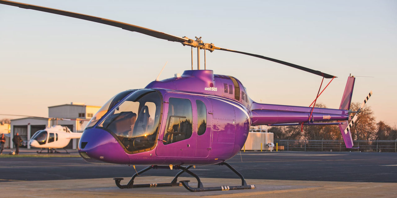 Bell helicopter sells first two 505 Jet ranger X helicopters to Vietnam