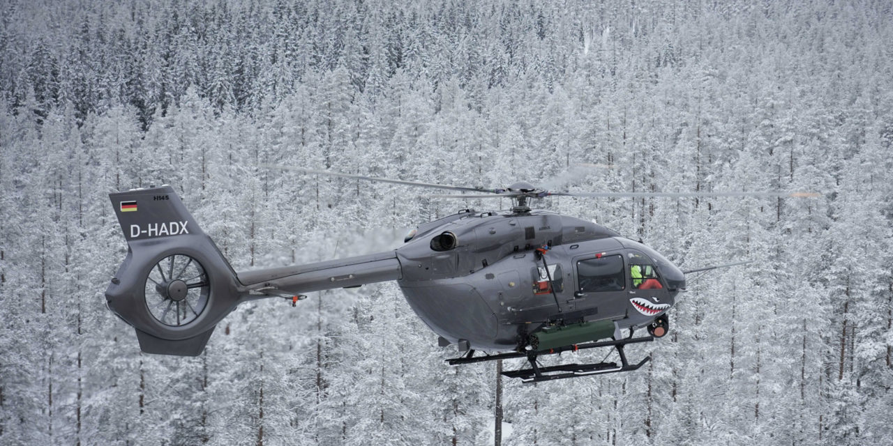 H145M successfully launched 70mm laser guided rockets during its firing campaign in Sweden.