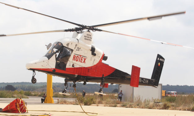 Aerial FirefightingEurope and Aerial Search & Rescue trade shows a hit in Nîmes