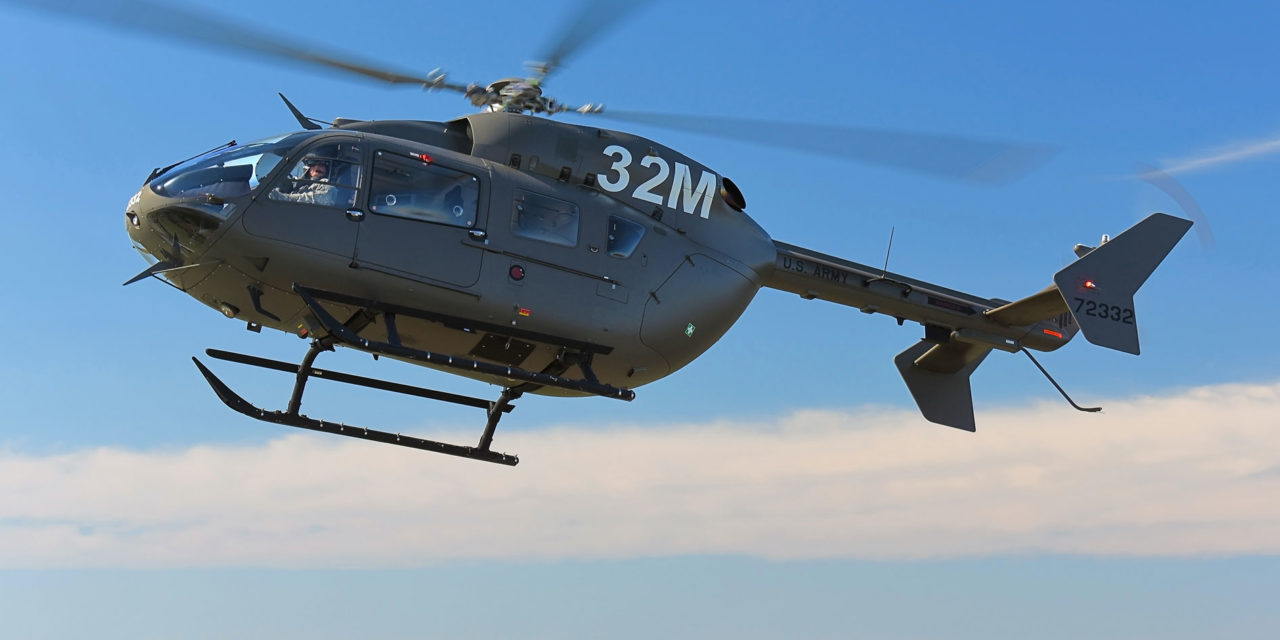 Airbus Helicopters to provide 16 Additional UH-72A Lakotas for the U.S. Army