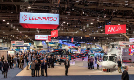 Leonardo celebrates helicopter orders at Heli-Expo 2018 of nearly 140 million euro