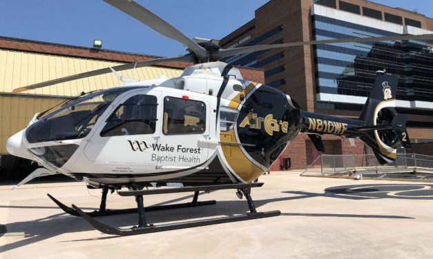 PAC International delivers three upgraded EC135s to North Carolina