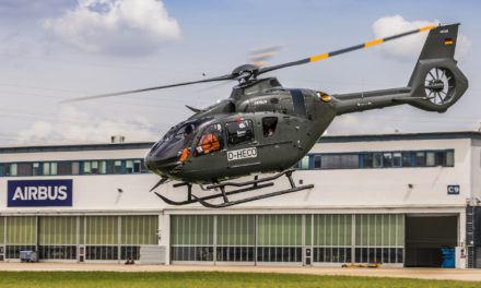 Airbus Helicopters delivers fifth and final H135 for Bundeswehr training