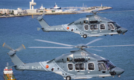 Hong Kong's Government Flying Service receive first H175s in public services configuration