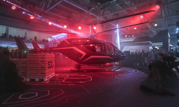 Russian Helicopters of Rostec presents light multirole VRT500 helicopter for the first time