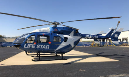 Metro Aviation delivers an EC145e to the Hartford Hospital LIFE STAR