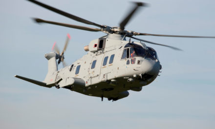 Leonardo delivers the first AW101 to the Commando Helicopter Force (CHF) in the UK