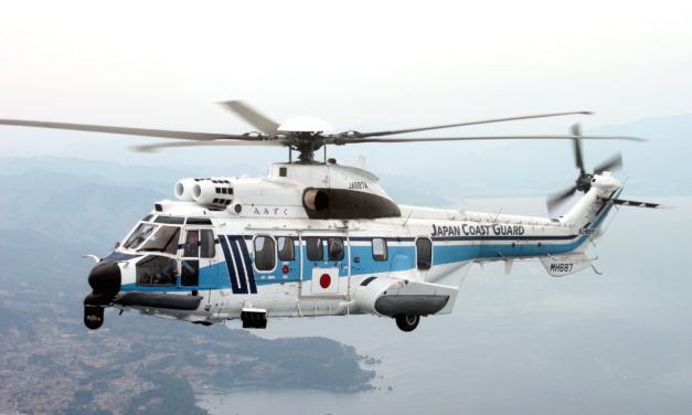 Japan Coast Guard signs HCare Smart for its H225 fleet
