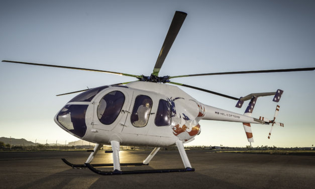 MDHI announces certified MD 530F all glass cockpit at APSCON 2018