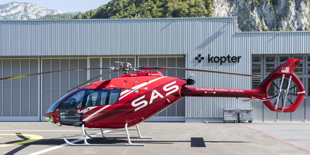 Kopter announces a first firm order with SAS from Malaysia