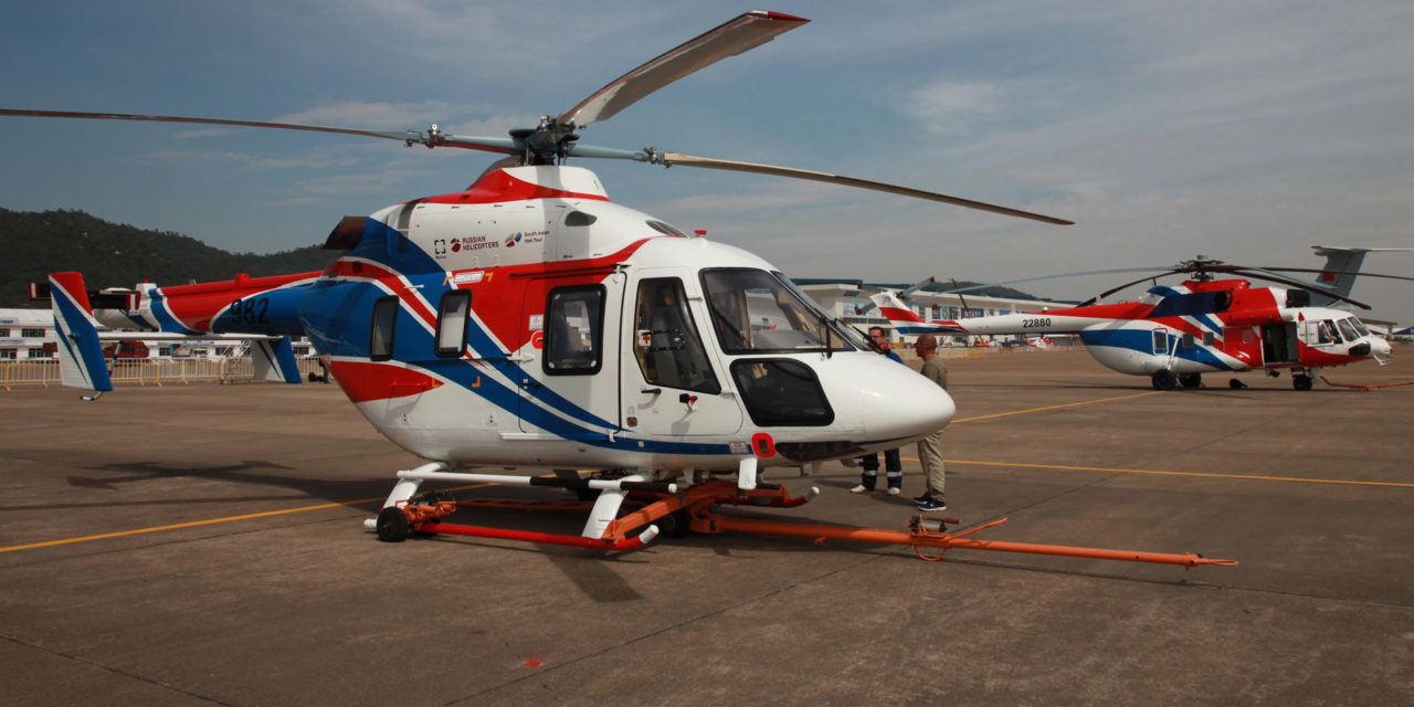 Russian Helicopters successfully tests Ansat equipped with ditching system