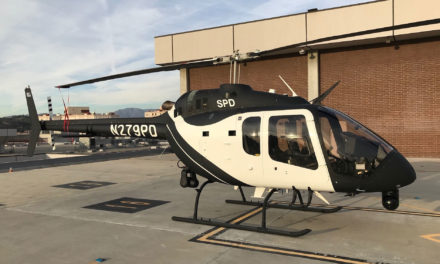 Bell delivers first law enforcement Bell 505 to Sacramento Police
