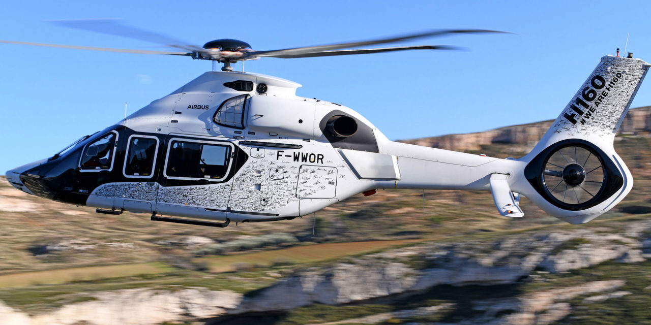 First serial H160 takes to the skies