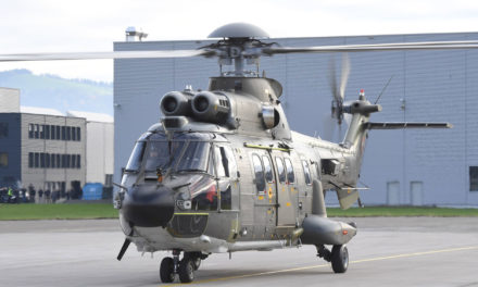RUAG modernizes eight Swiss Air Force transport helicopters