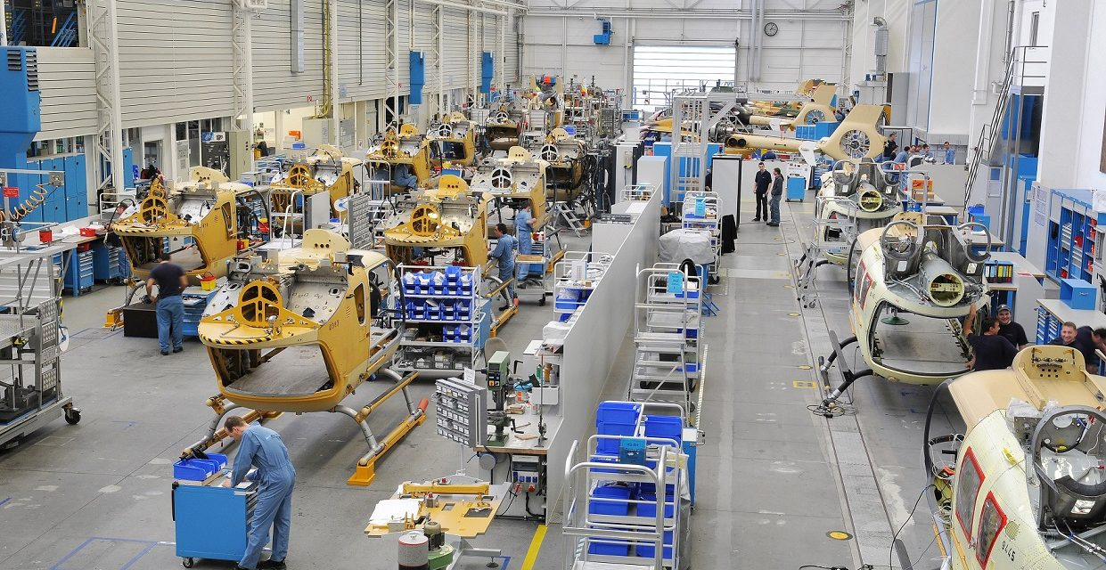 Airbus Helicopters breaks ground on first helicopter assembly line in China.