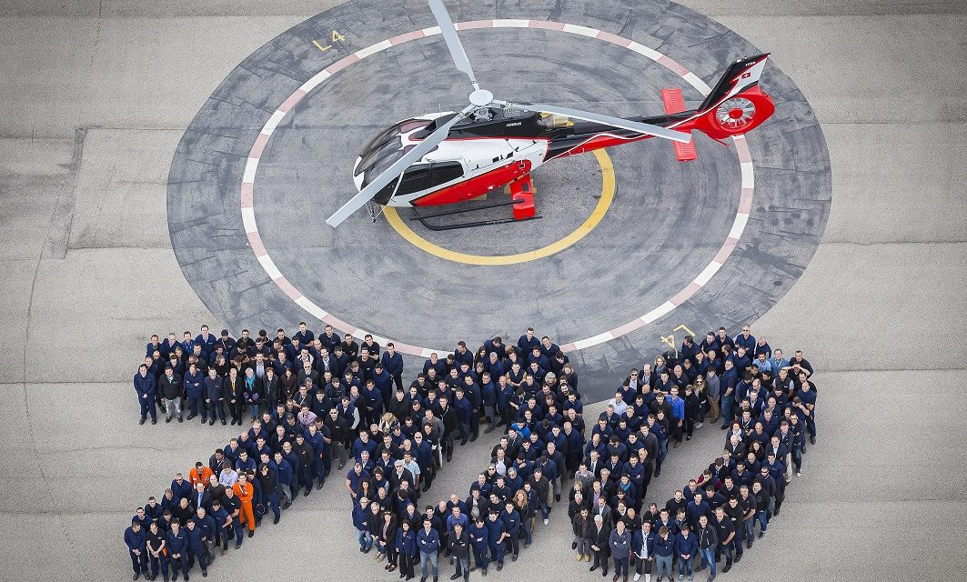 Airbus Helicopters rolls out 700th H130.