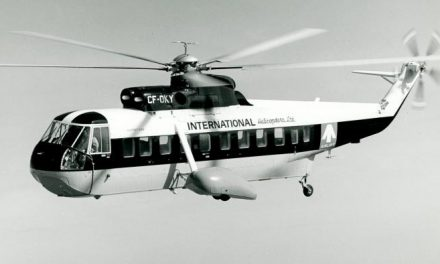 CHC and Sikorsky commemorate historic transatlantic flight.