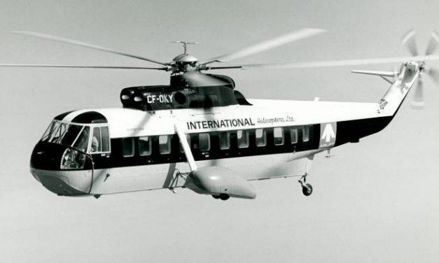 CHC and Sikorsky commemorate historic transatlantic flight.