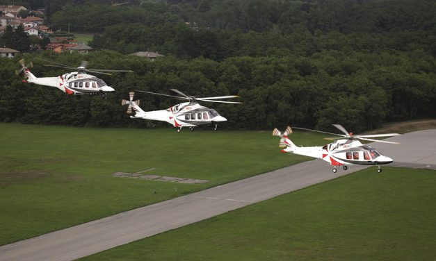 LCI orders nine helicopters at it takes delivery of a record six units in a month.