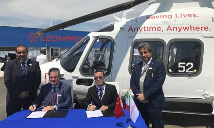 Leonardo and Sino-US Intercontinental sign contract for 17 helicopters.