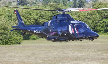 Leonardo: Centaurium Aviation Ltd. takes delivery of its GrandNew helicopter in Switzerland.