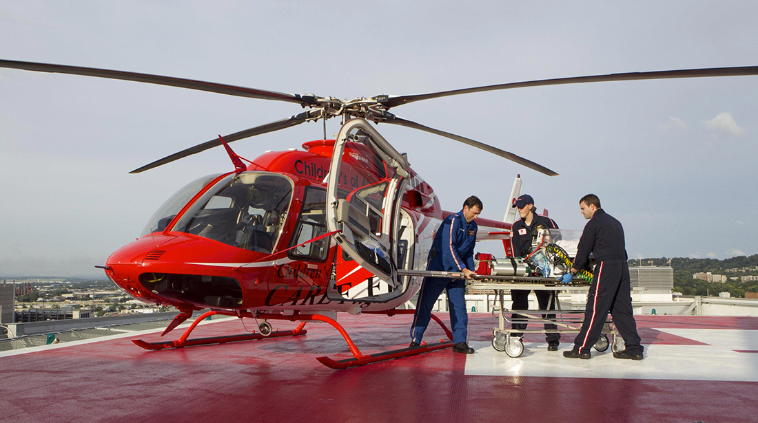 Shaanxi Helicopter Signs Purchase Agreement for 100 Bell 407GXP Helicopters.
