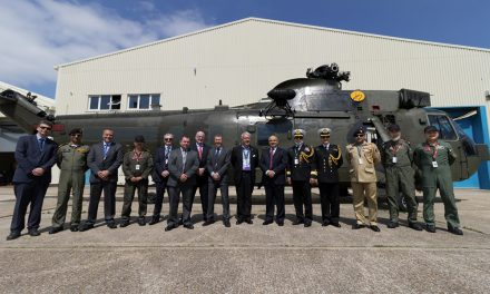 Vector Aerospace supports Pakistan Navy Sea King helicopter refurbishment programme.