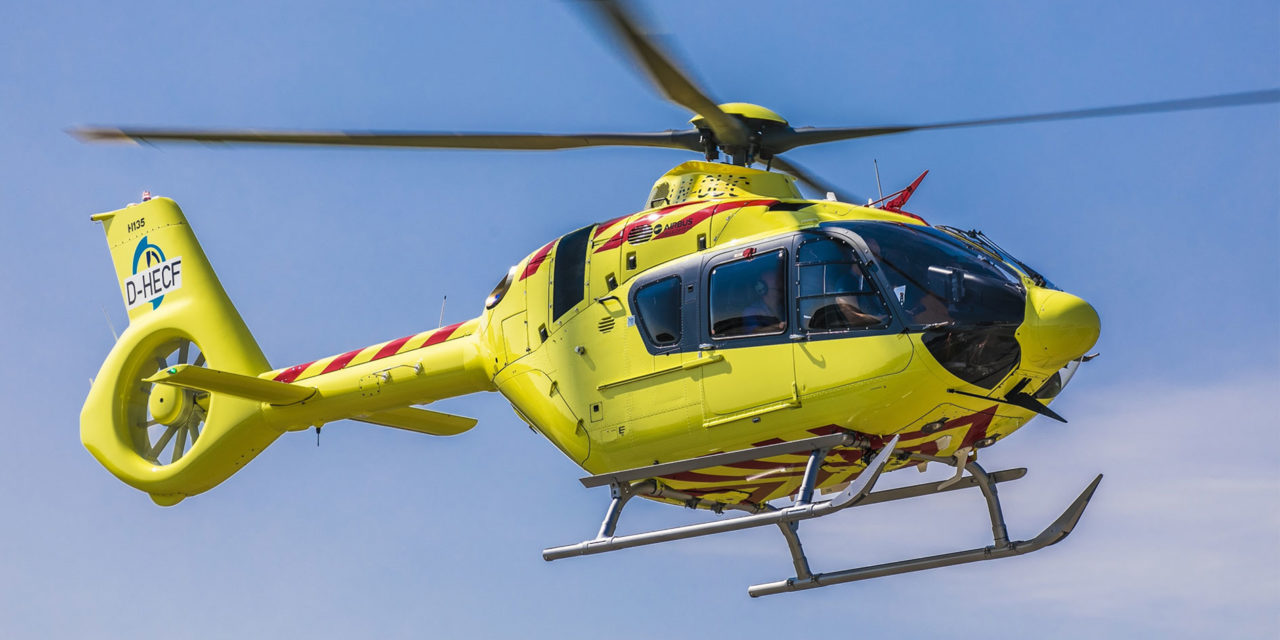 NOLAS takes delivery of an H135 equipped with Helionix