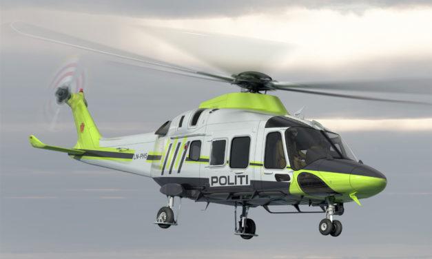 Norwegian Police select AW169