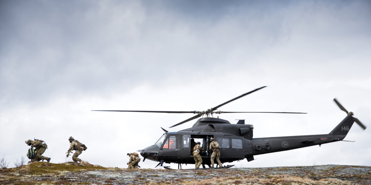Patria to maintain Norwegian Bell helicopters