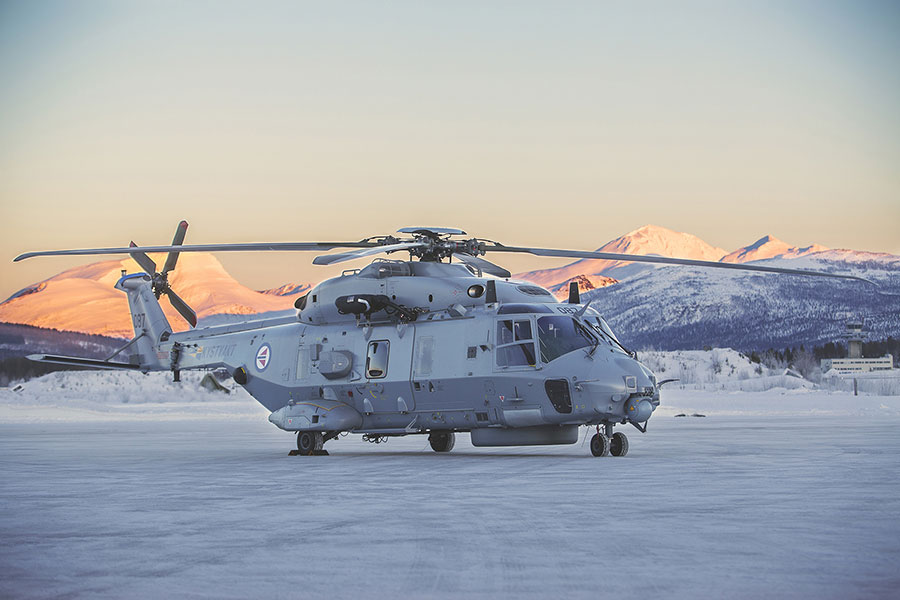 Patria wins contract to perform on-aircraft maintenance for the Norwegian NH90 helicopters.