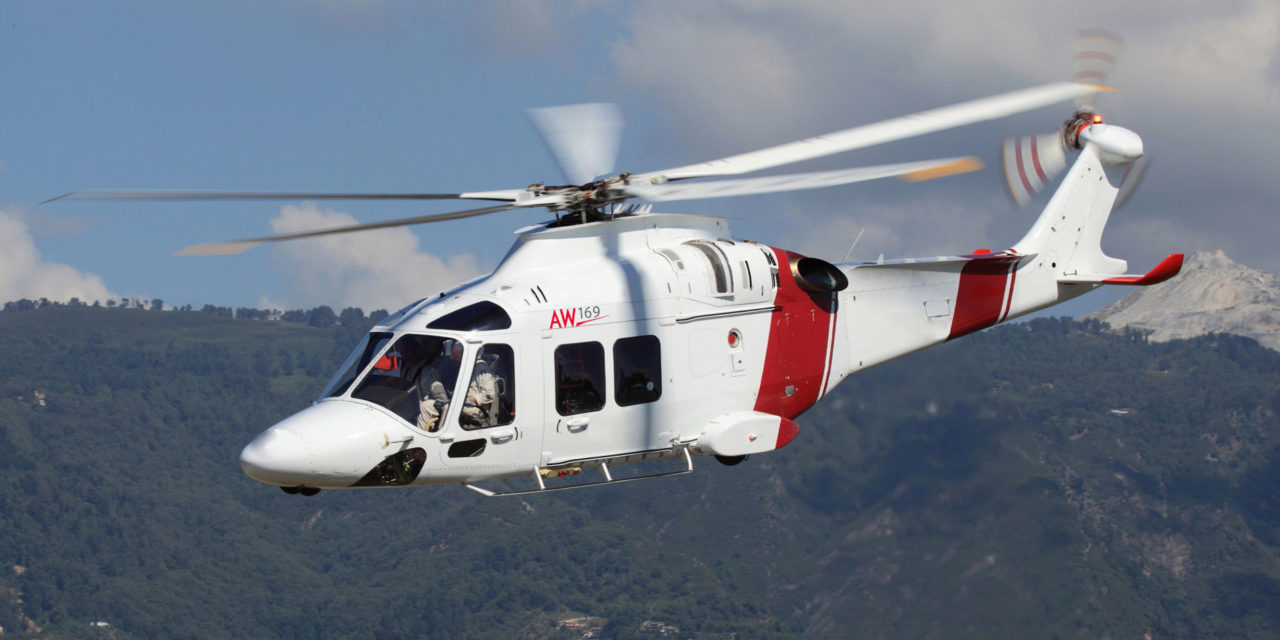 AW169 helicopter scores first contract success in the US emergency services market