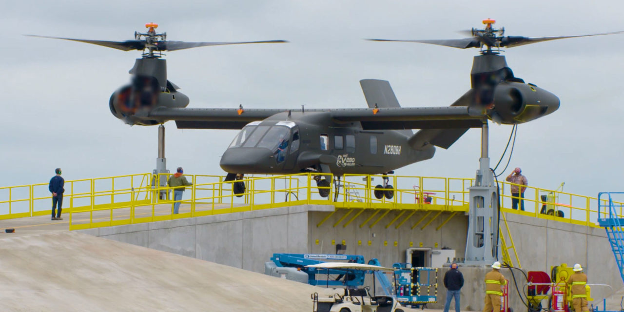 Bell V-280 Valor prototype begins restrained ground run test operations