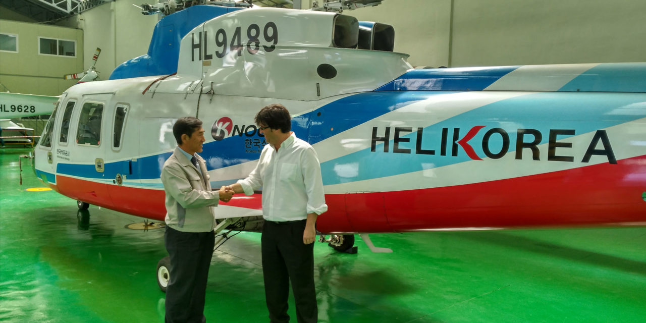 Helikorea acquires a H19 / AW109 FTD Level 5 Entrol simulator