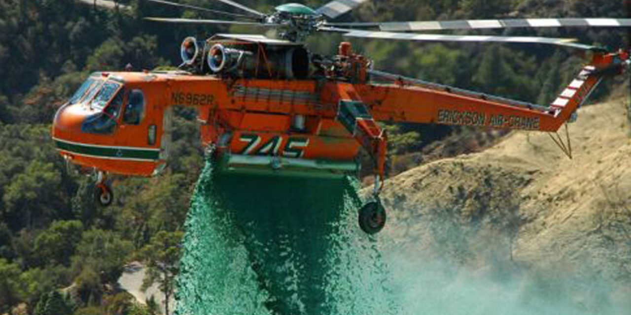 Erickson begins 20th Season of fighting fires in Australia