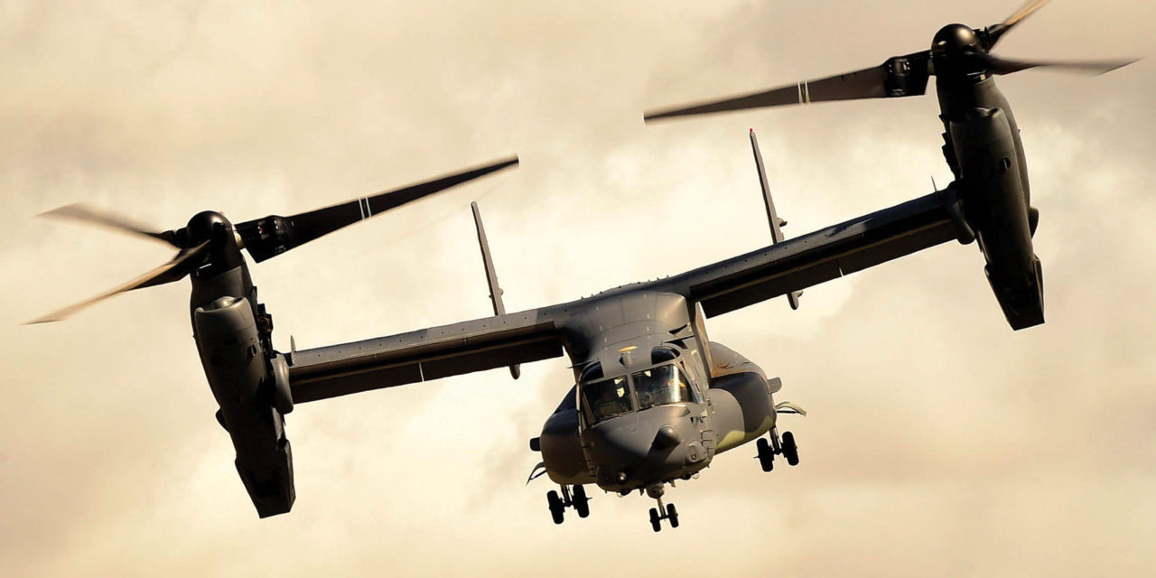 V-22 Osprey fleet tops 40,000 flight hours